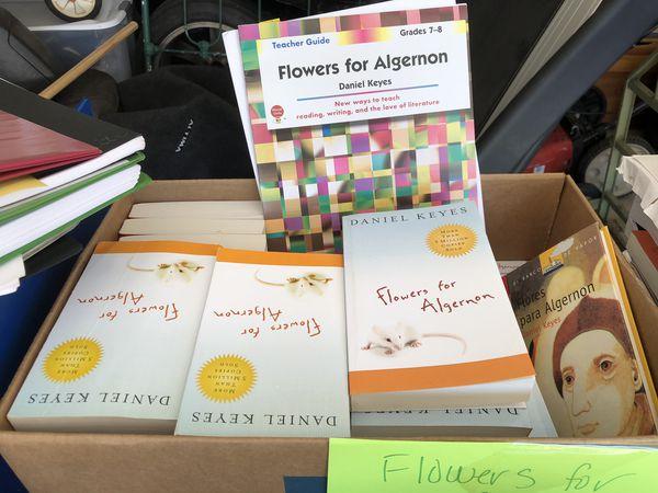Class set of Flowers for Algernon