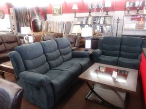 Reclining sofa and love for Sale in Melvindale, MI