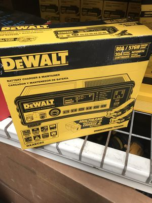 DEWALT 30 Amp Multi Bank Battery Charger with 80 Amp Engine Start for Sale in Temple City, CA
