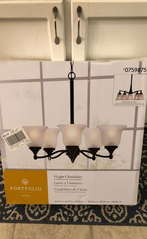 5-Light Chandelier for Sale in Columbus, OH