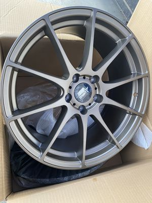 "New 18"" mst rims for Sale in Maywood, CA"