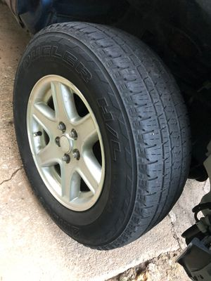 Jeep wheels and tires 5x114.3 for Sale in Atlanta, GA