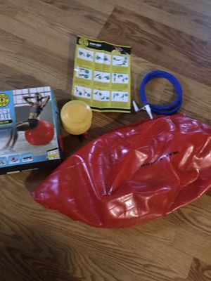 BODY Ball ( 65 cm air pump included good condition for Sale in Downey, CA