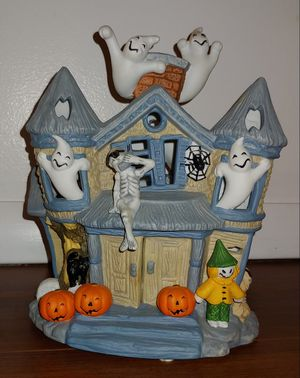 Haunted House - Partylite votive candle holder for Sale in Sycamore, IL