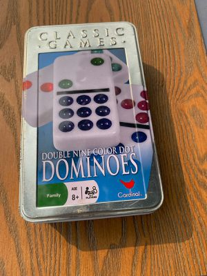Full color Dominoes Set for Sale in Cutler, CA
