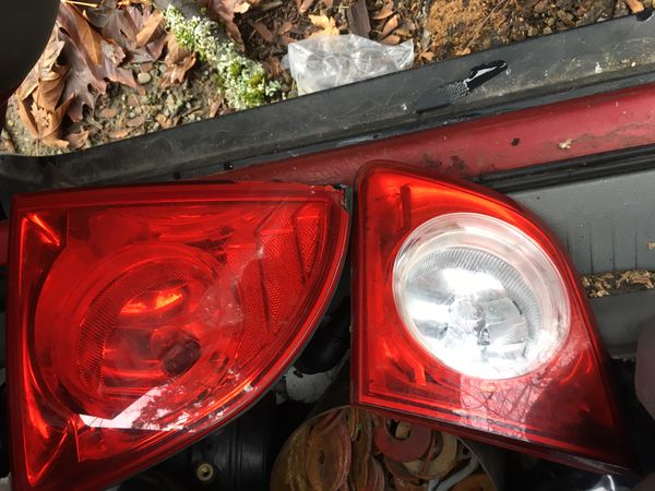 Chevy headlights and tail lights 08 Malibu make offer