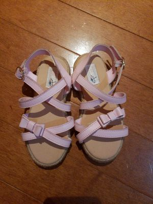 Janie and Jack Girl Sandles size 8 (NEW) for Sale in Manassas, VA