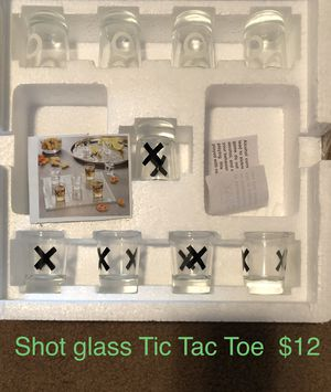 Shot glass Tic Tac Toe game $12 for Sale in Idaho Falls, ID