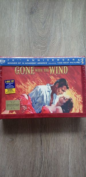 Factory Sealed 70th Anniversary Gone with the Wind Blu-ray for Sale in Orlando, FL
