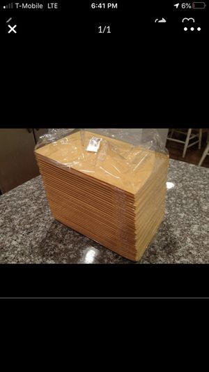25x bubble mailers 4x8 Inch for Sale in Fullerton, CA