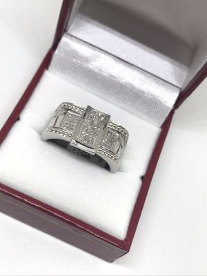Men's 10Kt white gold and diamond ring available on special offer for Sale in Indianapolis, IN