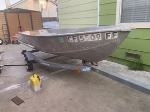 Sears ribbitted boat aluminum for Sale in Bay Point, CA