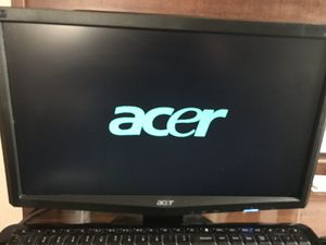 """18"""" Acer Monitor, Keyboard & Mouse for Sale in GRANDVIEW, OH"""
