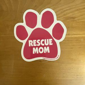 Rescue Mom Pet Car Magnet for Sale in Phoenix, AZ