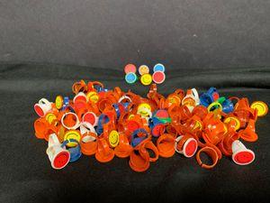 Children's Prizes or Treats - Over 100 Hard Plastic Happy Face Rings for Sale in Lenexa, KS