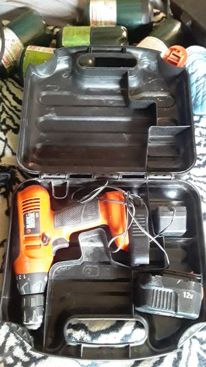 Black and Decker 12 volt Drill for Sale in Denver, CO