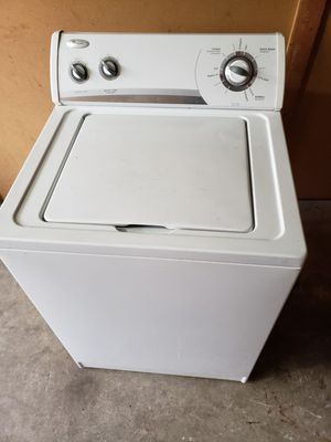 Whirlpool Washer Super Capacity (willing deliver for free for Sale in Tacoma, WA
