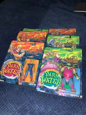 """Vintage HASBRO 1990 """"THE PIRATES OF DARK WATER - Six Different Action Figures"""" for Sale in Beaverton, OR"""