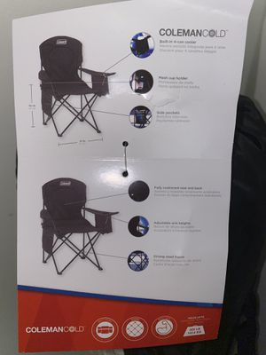 COLEMAN COLD CHAIR for Sale in Buffalo, NY