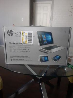 ×2 Notebook Detachable PC With HP Active Pan for Sale in Dallas, TX