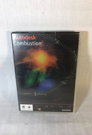 Autodesk Combustion 2008 for Mac for Sale in Seattle, WA
