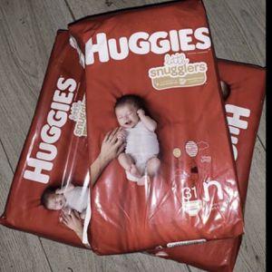 Huggies newborn Diapers 3 Packs for Sale in Long Beach, CA