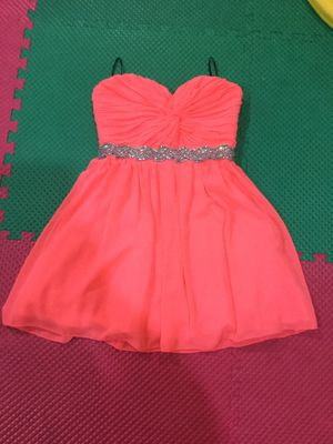 Coral short party dress for Sale in Chantilly, VA