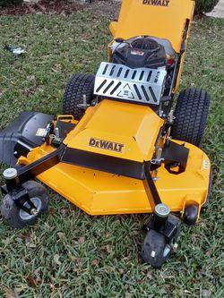 Dewalt Hw48 Comercial Walk Behind 48 In With Kawasaki Engine Brand New Never Used Nueva Nunca Usada. for Sale in Houston,  TX