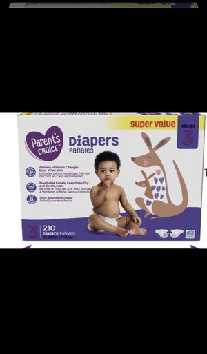 Diapers parent's choice for Sale in Aspen Hill, MD