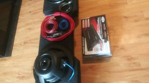 "KENWOOD EXCELON SERIES 12"" SUBS CLASS D AMP AND PRO AUDIO WIRING for Sale in Belton, SC"