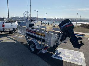 16' KLAMATH Alaskan center console fishing boat for Sale in Vallejo, CA