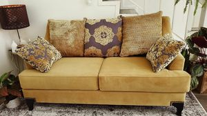 Stylish gold sofa for Sale in Los Angeles, CA