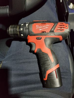 Milwaukee hammer drill m12 fuel for Sale in Henderson, NV