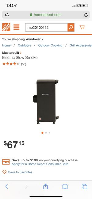 Electric Slow Smoker for Sale in Lakeland, FL