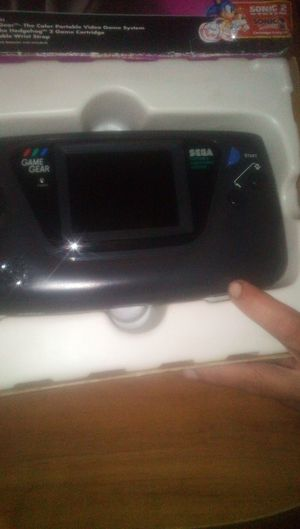 SEGA GAME GEAR CLASSIC ARCADE INSTRUMENT WITH SONIC GAMR for Sale in Santa Fe Springs, CA