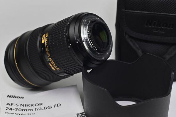 Nikon Zoom Lens 24-70mm f/2.8G ED AF-S Nikkor USA