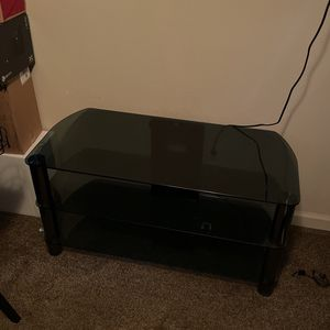 Glass TV Entertainment Stand for Sale in Fresno, CA
