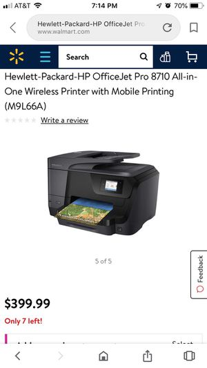 HP printer practically new! for Sale in Mansfield, TX