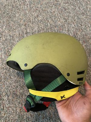 Anon Raider Rasta Snowboard / Biking Helmet SZ M for Sale in Kennewick, WA