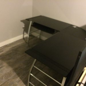 IKEA Metal Glass Desk for Sale in West Orange, NJ