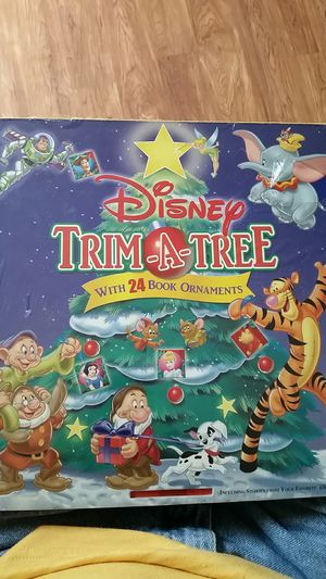 Disney trim a tree with 24 ornaments for Sale in Grosse Ile Township, MI