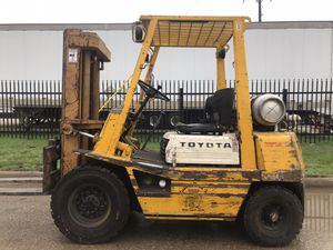 Toyota Pneumatic Forklift for Sale in Dallas, TX