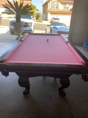 Pink pool table for Sale in Corona, CA