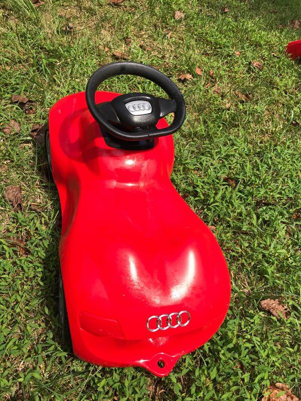 Kids Audi car - $5