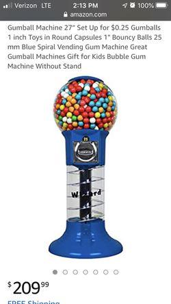 """Gum ball machine 27"""" for Sale in East Wenatchee,  WA"""