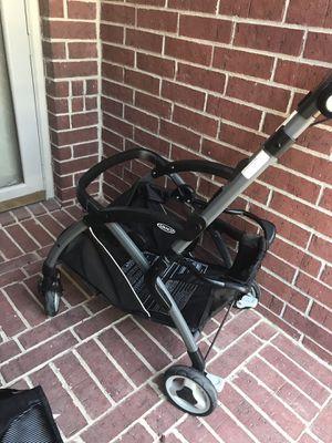 Graco SnugRider Elite Infant Car Seat Frame Stroller for Sale in Fort Worth, TX