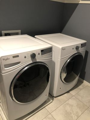 Whirlpool Washer and Electric Dryer. for Sale in Queen Creek, AZ