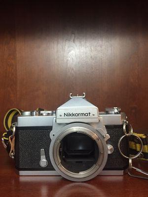Vintage 35mm Film Camera. Nikon/Nikkormat FTN and Nikkor - H 50mm f/2 lens for Sale in Dublin, OH