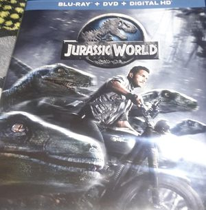 Jurassic World BLU-RAY +DVD for Sale in South Gate, CA