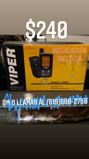 Viper Car Alarm 2 way pager Alarm for Sale in Chula Vista, CA
